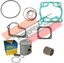 Suzuki RM125 1991 54mm Bore Mitaka Top End Rebuild Kit Inc Piston & Gaskets
